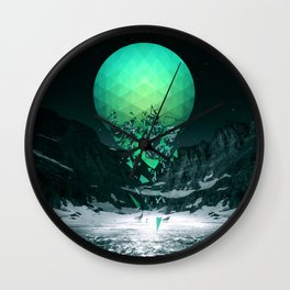 Fall To Pieces Wall Clock