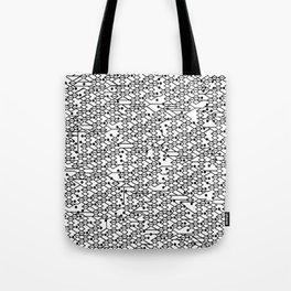 Microchip Pattern Tote Bag