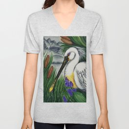 Within the Reeds Unisex V-Neck