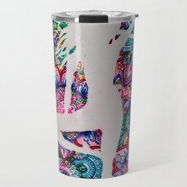 Art in Flow Arts Travel Mug