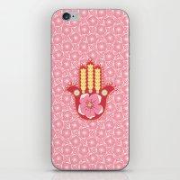 hamsa iPhone & iPod Skins featuring Hamsa by Moirarae