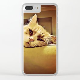 Life Is So Exhausting, I think I'll Just Have A Little Nap Clear iPhone Case