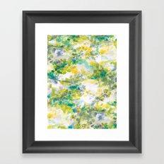 Canopy (green) Framed Art Print