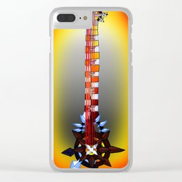 Fusion Keyblade Guitar #166 - Twilight Blaze & Two Become One Clear iPhone Case