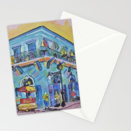 Old Absinthe House on Bourbon St Stationery Cards