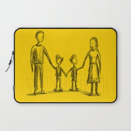 Family - The Twins Laptop Sleeve