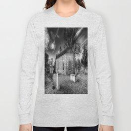 Old Dutch Church Of Sleepy Hollow Long Sleeve T-shirt