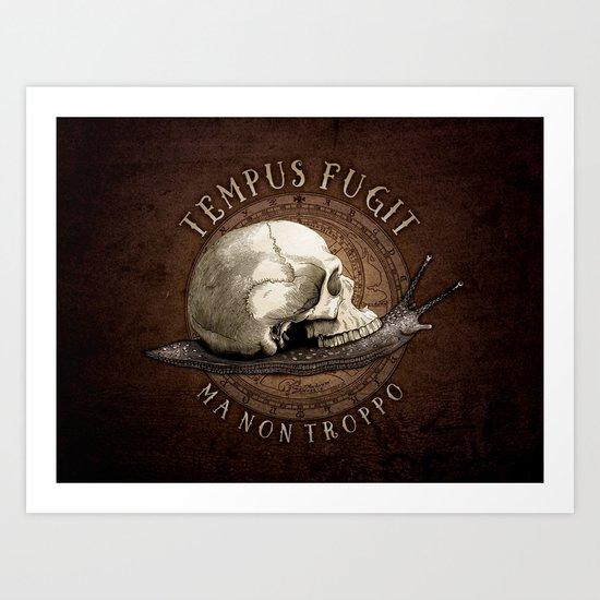 Tempus Fugit (ma non troppo) Art Print