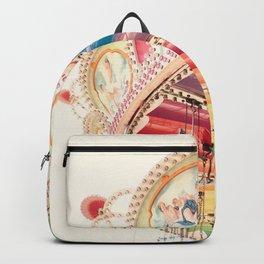 Flying Carousel 1 - Six Flags America Backpack