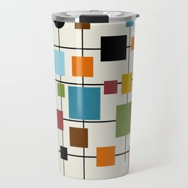 Mid-Century Modern Art 1.3 Travel Mug