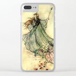 """Queen of the Fairies"" by Arthur Rackham Midsummer's Night Clear iPhone Case"