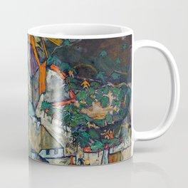 "Egon Schiele ""Stadtende Häuserbogen III"" Coffee Mug"