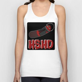 Horrorshow Hot Dog Logo - Frank 'n Furter variant Unisex Tank Top