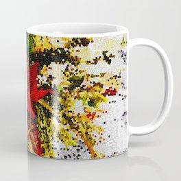 POINSETTIAS FLORAL ARRANGEMENT Coffee Mug