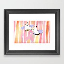 Flight of the Boobee Framed Art Print