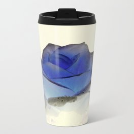 something blue... Metal Travel Mug