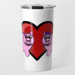 Piggy Love Travel Mug