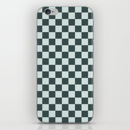 Checkerboard Pattern Inspired By Night Watch PPG1145-7 & Cave Pearl PPG1145-3 iPhone Skin