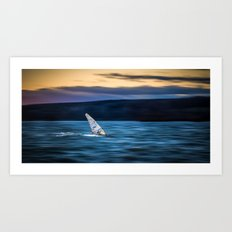 a great way to end the day Art Print