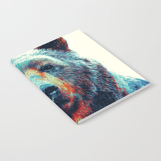 Bear - Colorful Animals Notebook