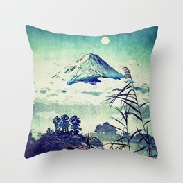 The Midnight Waking Throw Pillow