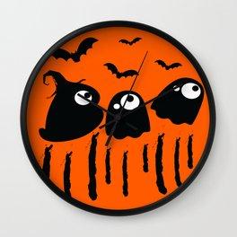 Boo Halloween Wall Clock