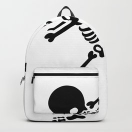 Dabbing skeleton (Dab) Backpack