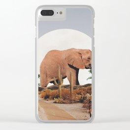 CINNAMON Clear iPhone Case