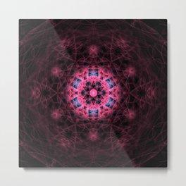 Harmonics Mandala Metal Print