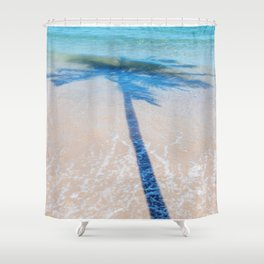 TREE IN SEA Shower Curtain
