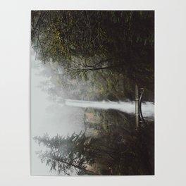 Multnomah Falls II / Oregon Poster