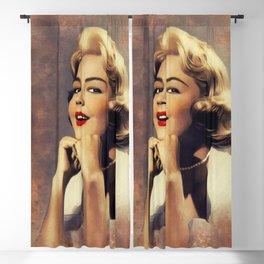 Sandra Dee, Vintage Actress Blackout Curtain