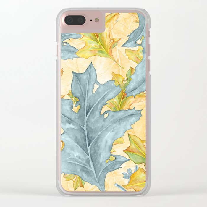 Autumn leaves #26 Clear iPhone Case