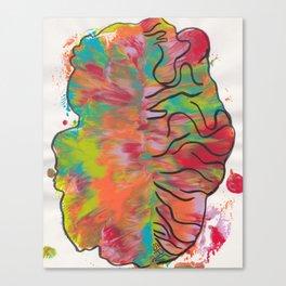 Brain Scan Canvas Print