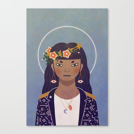 Celestial Portrait Canvas Print