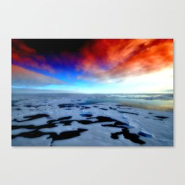 in the funky ice Canvas Print
