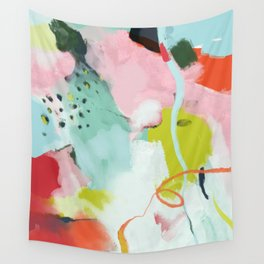 landscape in spring Wall Tapestry