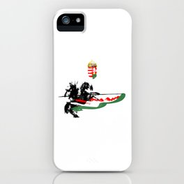 Hungarian Hussar iPhone Case