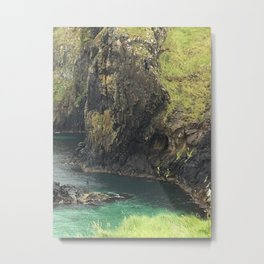 View From Carrick Rope Bridge Metal Print