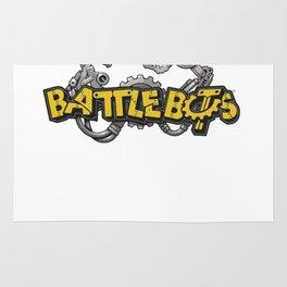 Battlebot shirt robot fighting shirt robot wars machines robot gears Rug