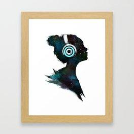 Lost In Space (Clean) Framed Art Print