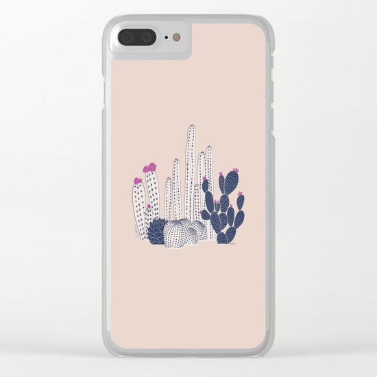 CACTUS fuertelocura Clear iPhone Case