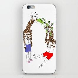 giraffe boyz iPhone Skin