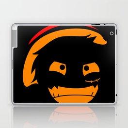 The Pirate of Smile Mask Laptop & iPad Skin