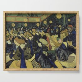 The Dance Hall in Arles Serving Tray