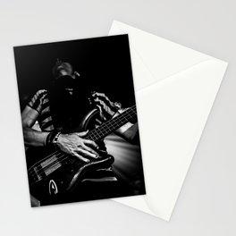 Slap the bass Stationery Cards