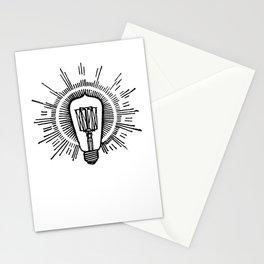 Lightbulb Stationery Cards