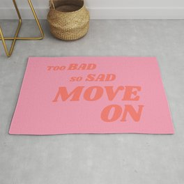 Slightly Sarcastic, Slightly Motivational Rug