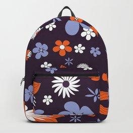 Flower Background Backpack
