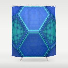Solemn Shower Curtain